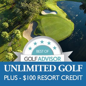 Unlimited golf resort credit