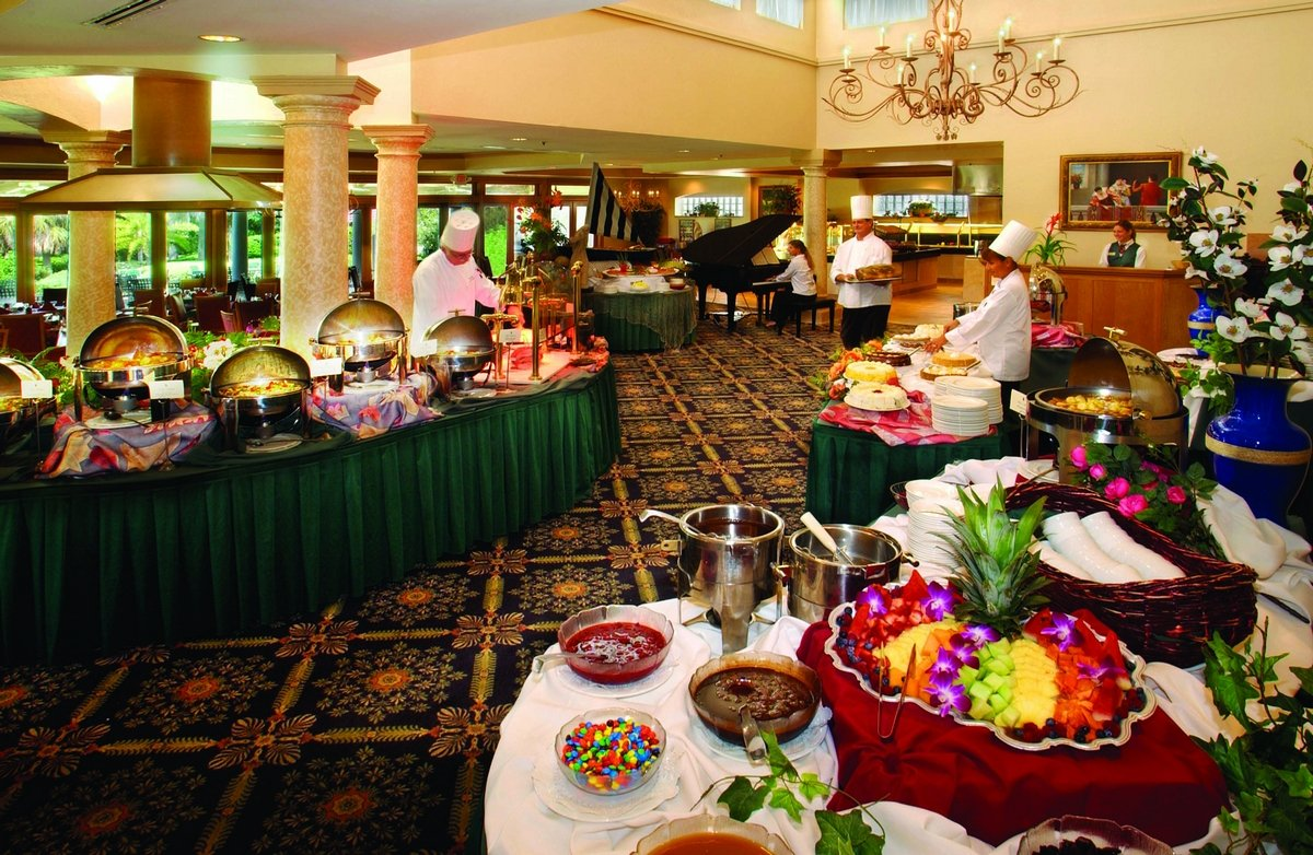 la hacienda brunch buffet florida