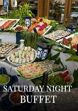 saturday night buffet