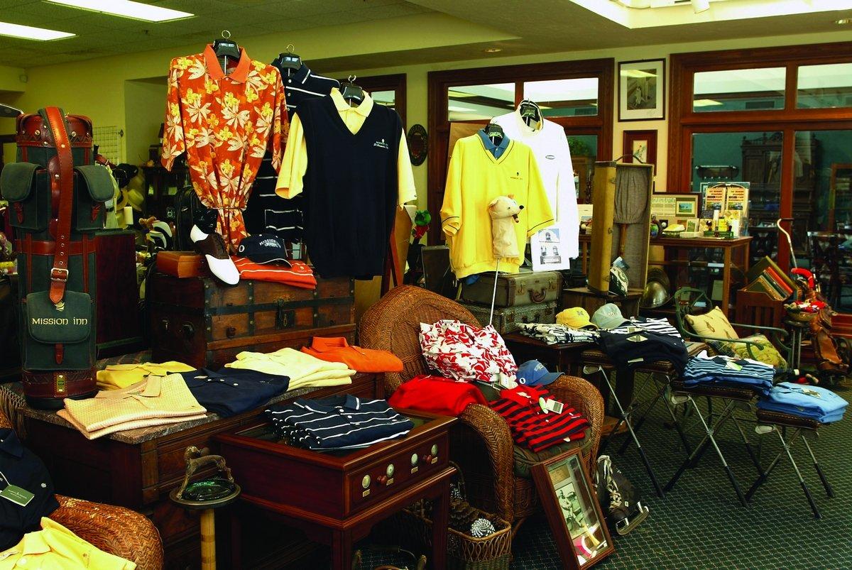 Mission Inn Resort Golf Pro Shop Interior