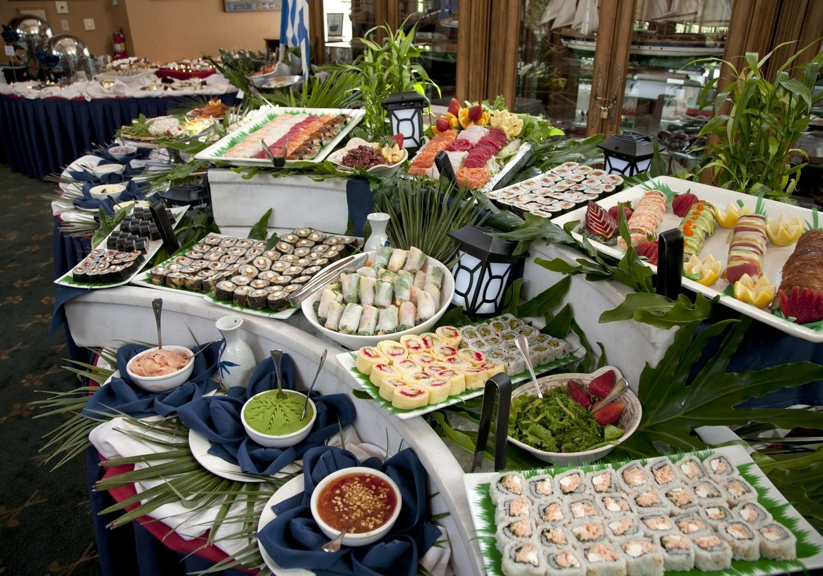 Sushi bar buffet near Orlando, Florida