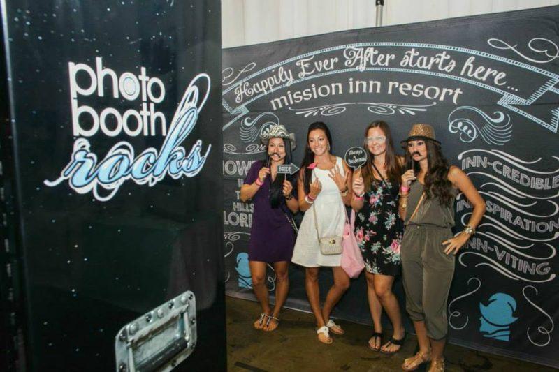 Photobooth at Mission Inn Wedding Show