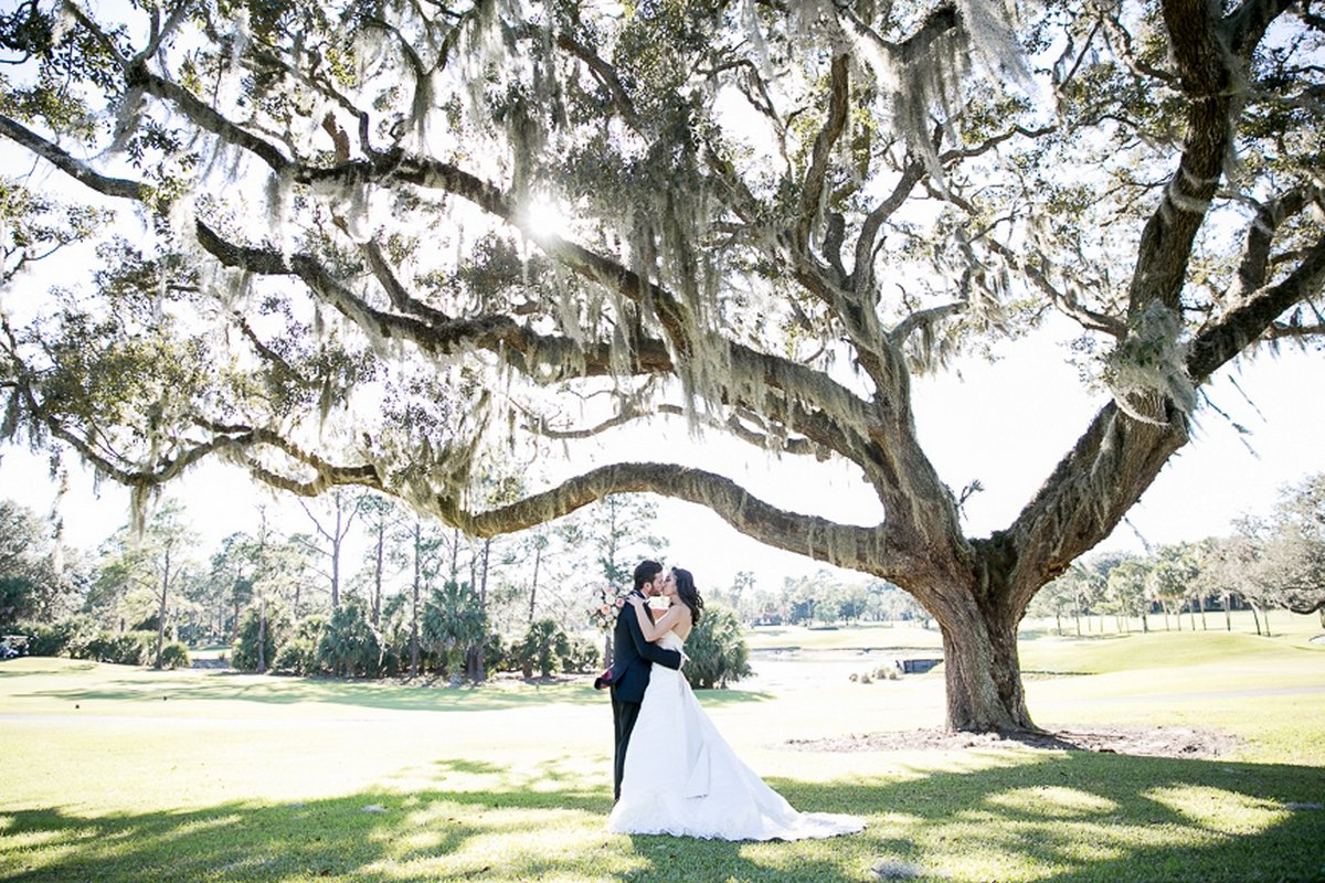 Stunning wedding venue in central florida mission inn resort club junglespirit Images