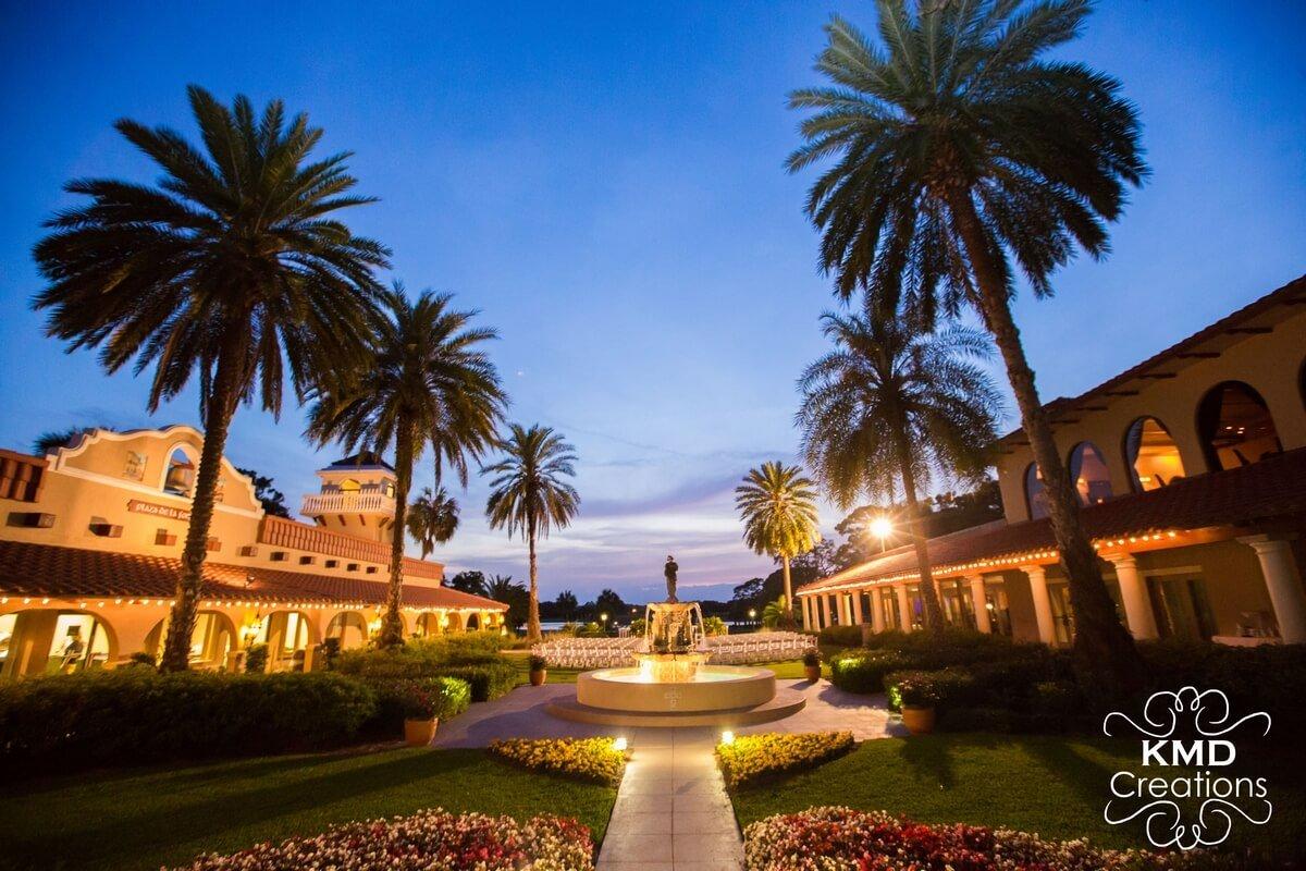 Plaza De La Fontana Orlando Wedding Venue
