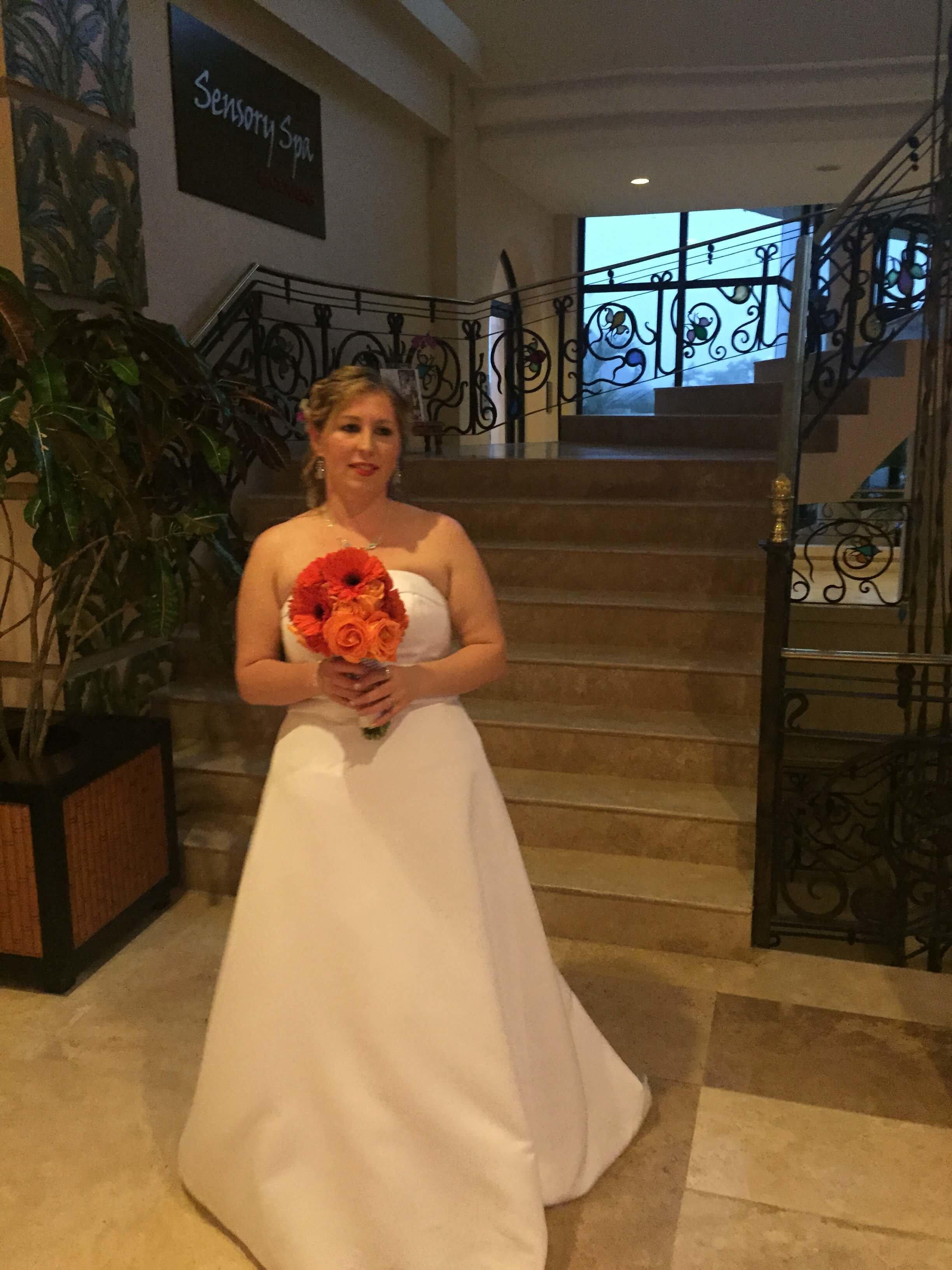 Bride at Wedding Venue
