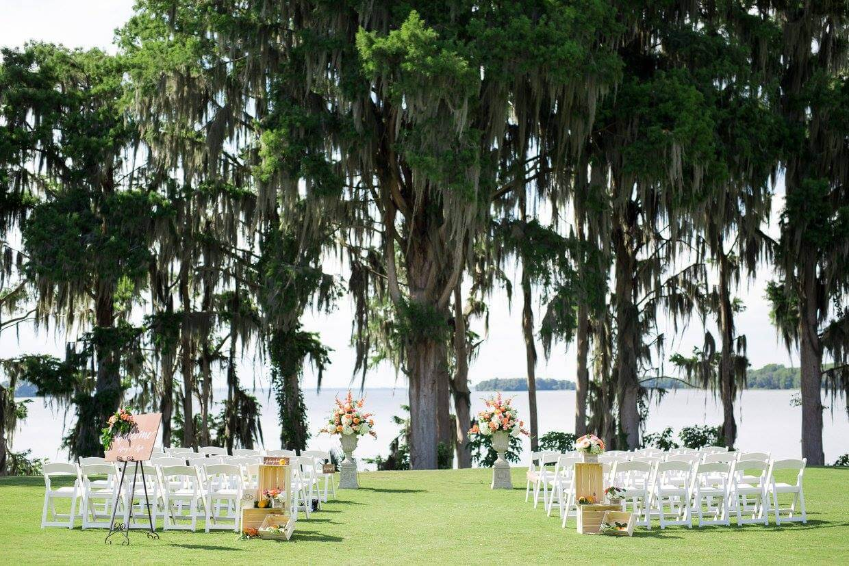 Stunning Orlando Waterfront Ceremony