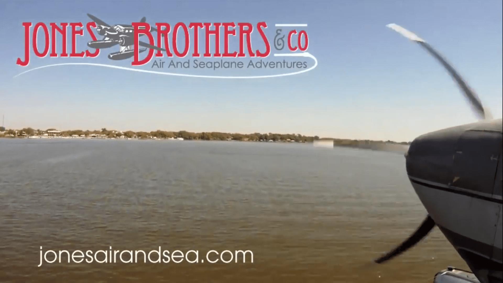 Seaplane Adventure With Jones Brothers & Co