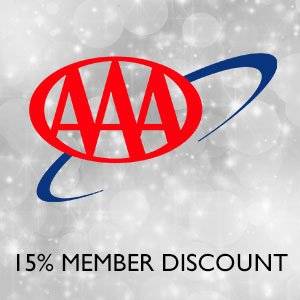 AAA Members - 15% Off