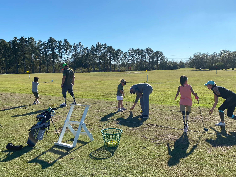 North American One-Armed Golfer's Association Plays At Mission Inn Resort & Club