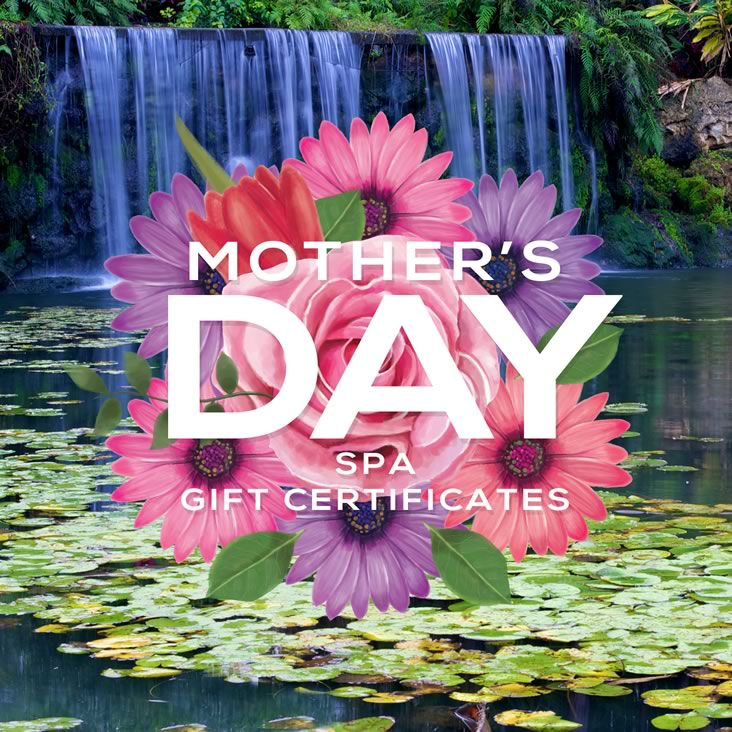 Mother's Day Spa Gift Certificate